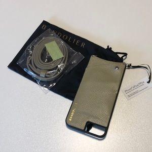 NEW Bandolier Phone Case iPhone 6/7/8 Plus Pebble